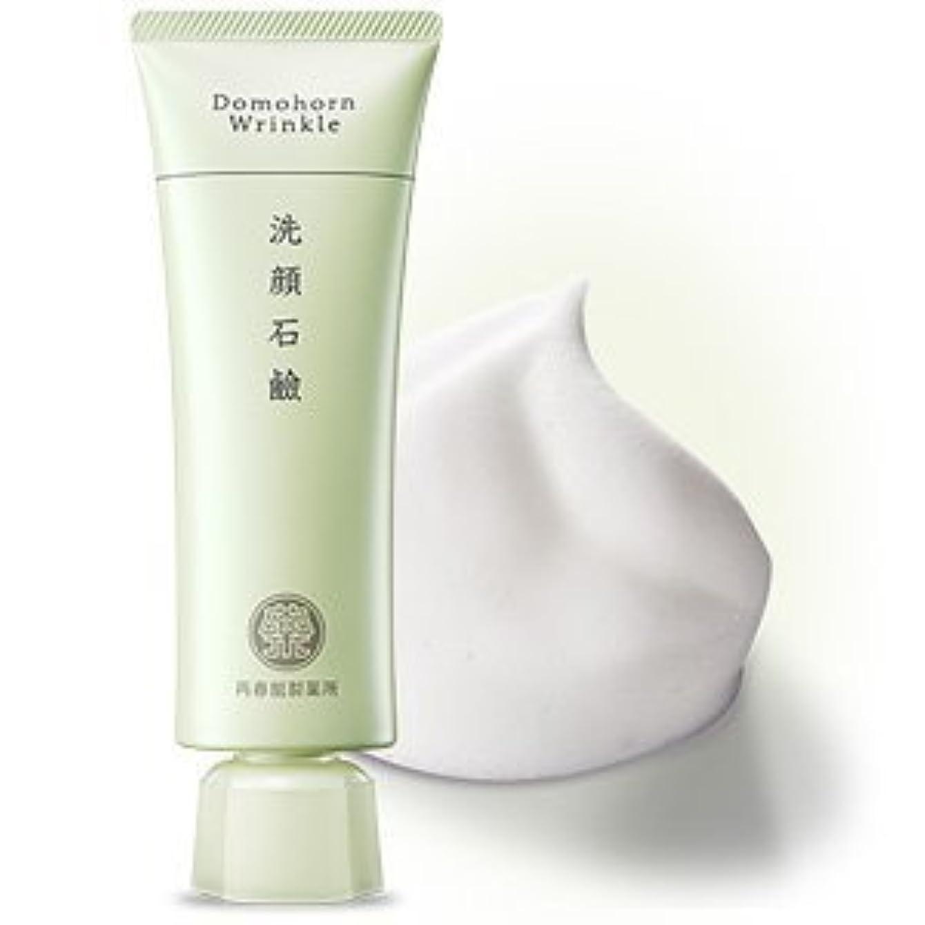 で出来ている顎単独で【濃密泡で毛穴対策にも】ドモホルンリンクル 洗顔石鹸 約60日分