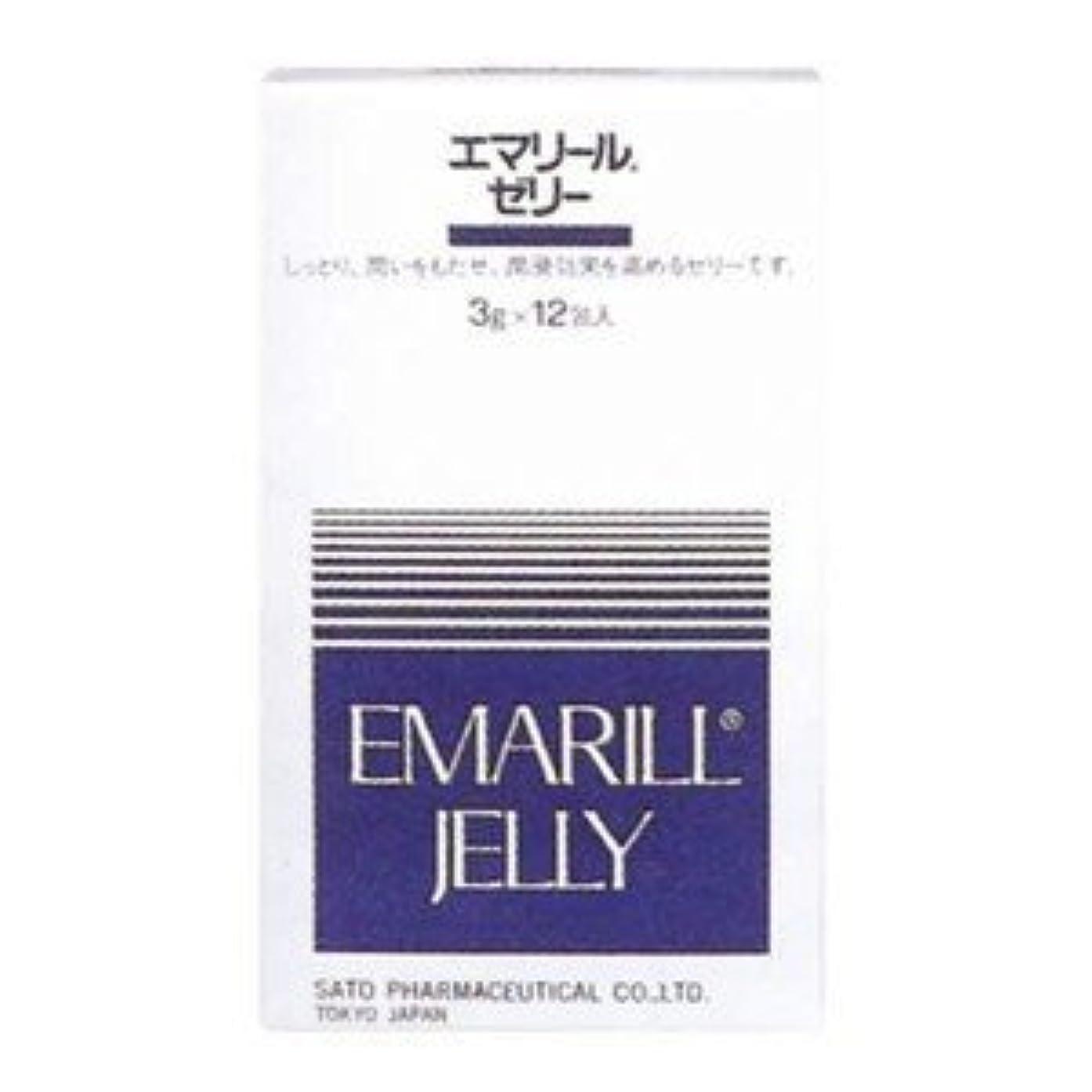 ストローク縞模様の雄弁【佐藤製薬】エマリール ゼリー 3g×12包
