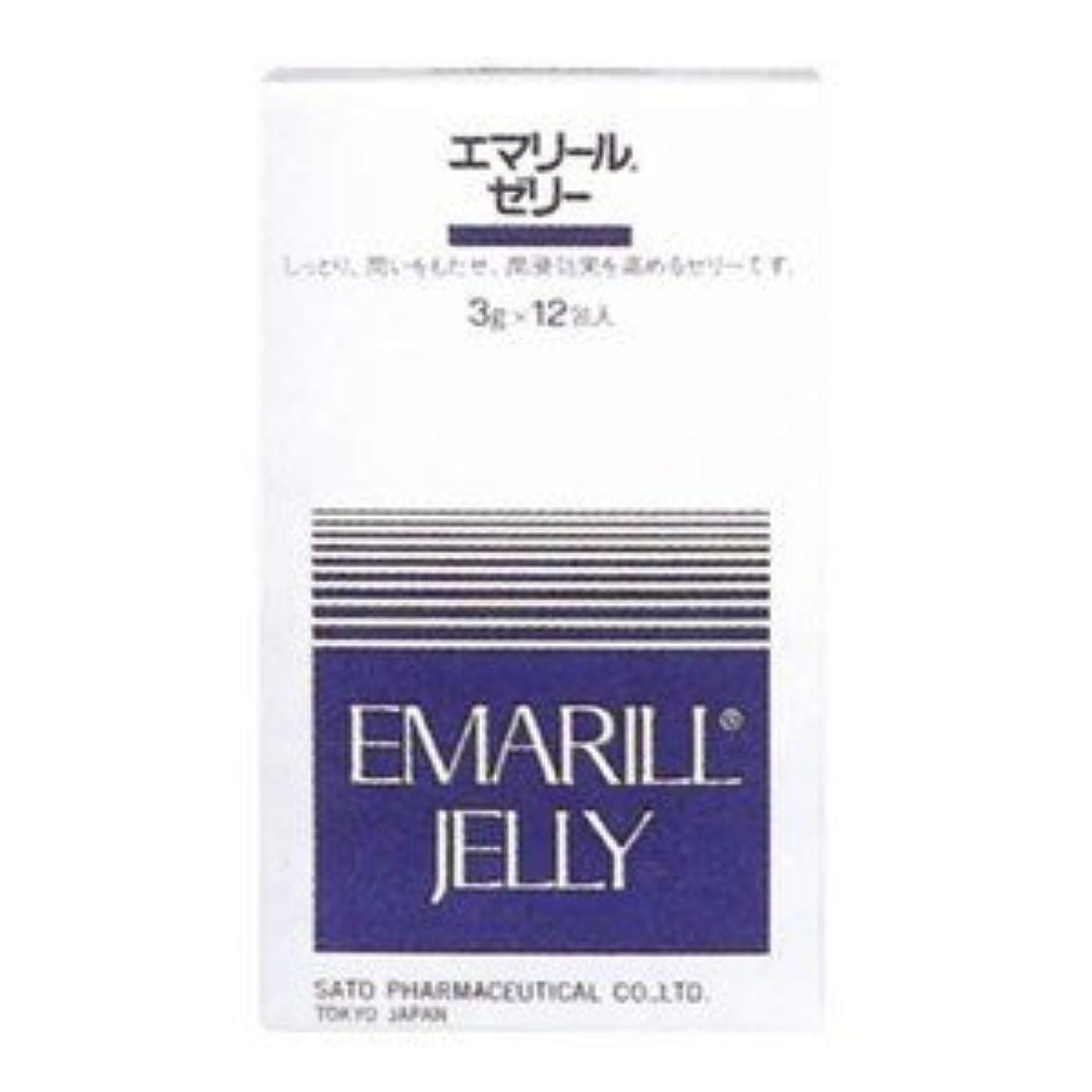 メニューようこそ温度計【佐藤製薬】エマリール ゼリー 3g×12包