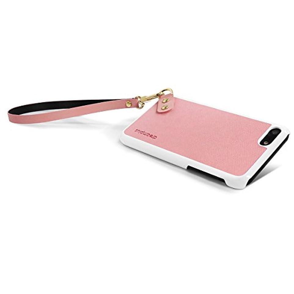 道徳腐食するタップ【日本正規代理店品】dreamplus iPhone 7 ストラップケース ピンク アイフォン カバー ストラップ付き DP9286i7
