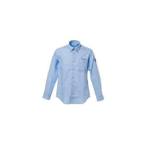 (シナコバ) SINA COVA ボタンダウンシャツ ライトブルー LLサイズ