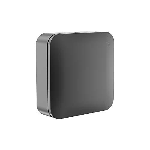 【20000mah 世界最小 最軽量】モバイルバッテリー 大容量 2.4A急速充電 2USBポート 携帯充電器 スマホバッテリー iPhone& Xperia&Android各種対応 (ブラック) …