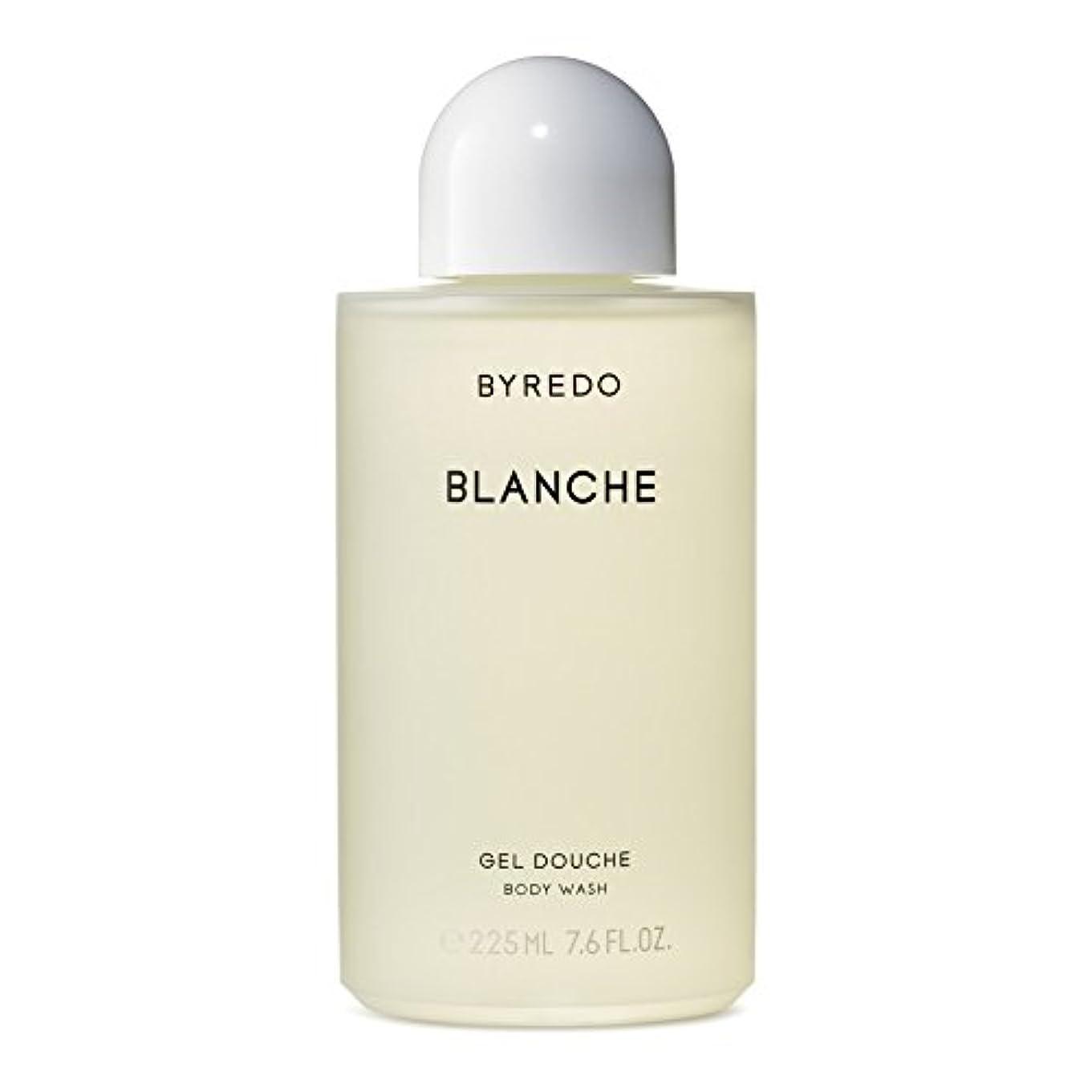 虐待レンダー電気陽性Byredo Blanche Body Wash 225ml - ブランシュボディウォッシュ225ミリリットル [並行輸入品]
