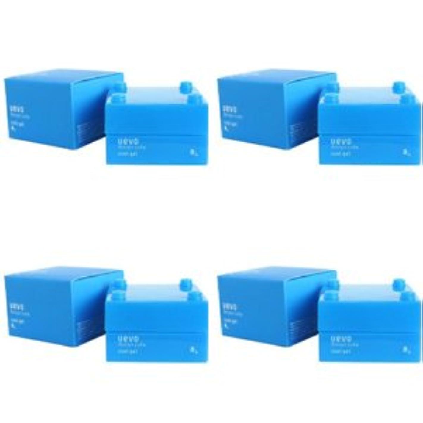 戦闘軽くフェード【X4個セット】 デミ ウェーボ デザインキューブ クールジェル 30g cool gel DEMI uevo design cube