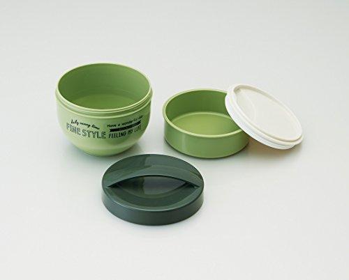 カフェ丼 ランチボックス 560ml 丼 弁当箱 ファインスタイル グリーン PDN6
