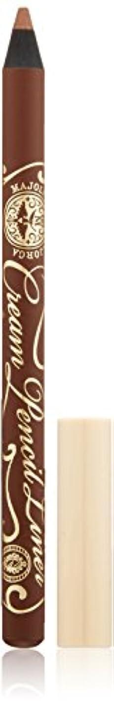 テナントリファイン形マジョリカ マジョルカ クリームペンシルライナー BR677 ココアブラウン (ウォータープルーフ) 1.4g
