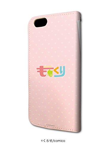 手帳型スマホケースiPhone6/6S専用ももくり 01 桃月心也&栗原雪
