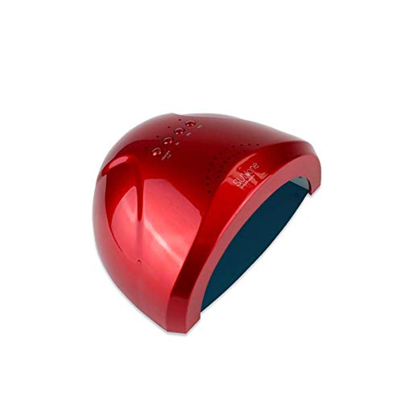 LEDネイル光線療法機、ホームインテリジェントセンサー多機能リムーバブルネイルキュアマシン、デュアルソースネイルポリッシャー、ホテル/家族/ホテルに適しています