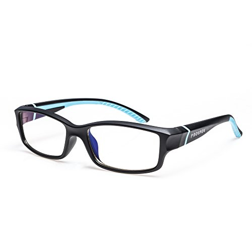 PROSPEK コンピューター用メガネ: 50% ブルーライトカットメガネ 十代向け