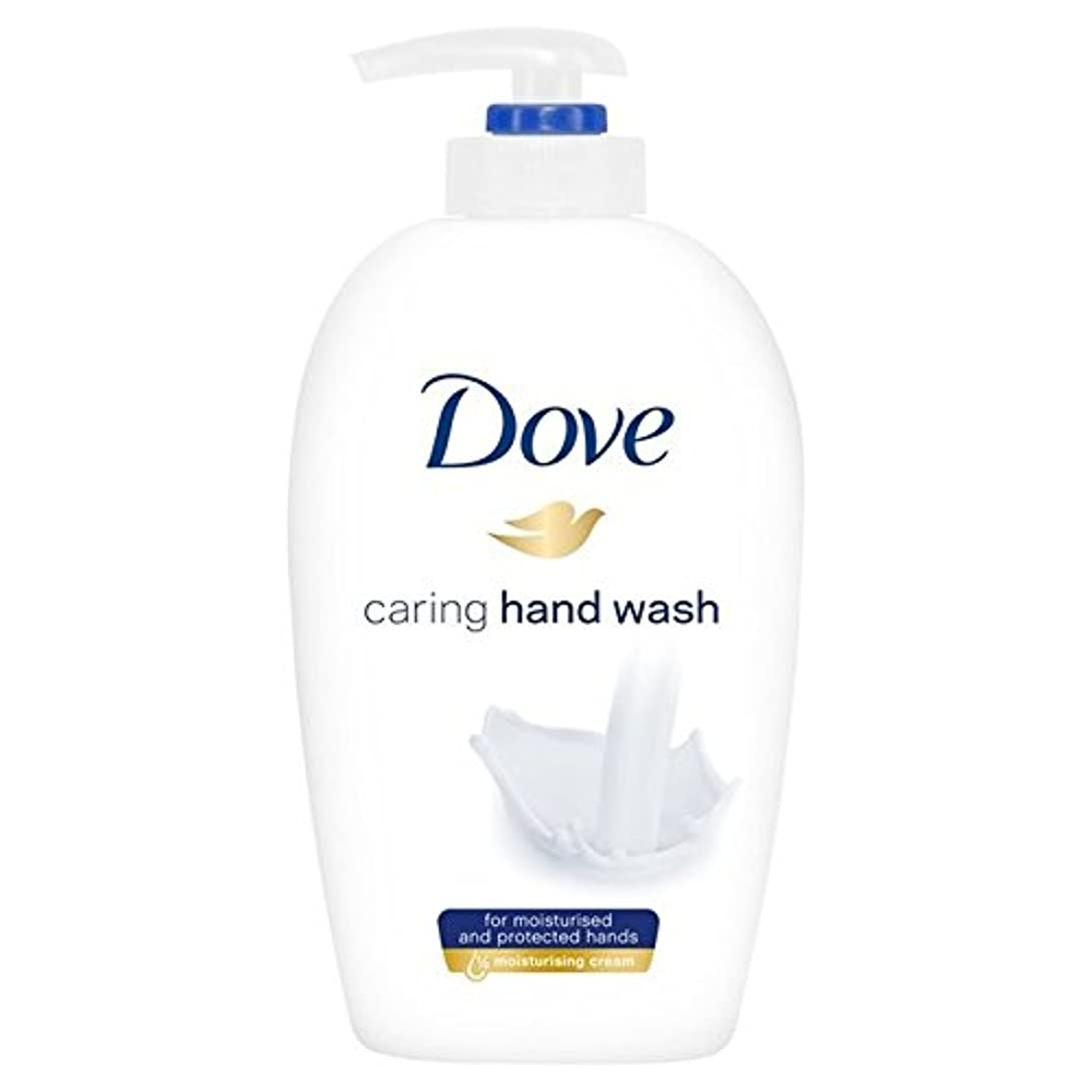 ハーネス駅シロナガスクジラ鳩思いやり手洗い250ミリリットル x2 - Dove Caring Hand Wash 250ml (Pack of 2) [並行輸入品]
