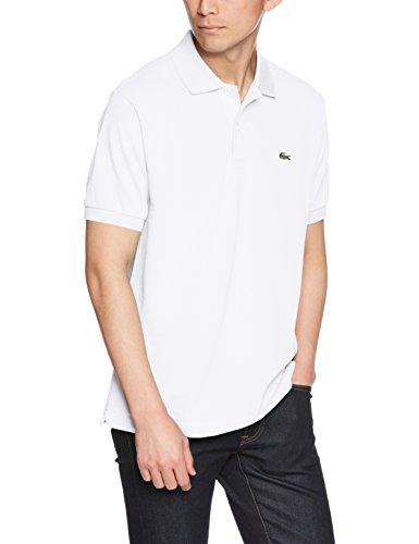 (ラコステ)LACOSTE ラコステL.12.12ポロシャツ(無地・半袖) L1212AL 001 ホワイト 006