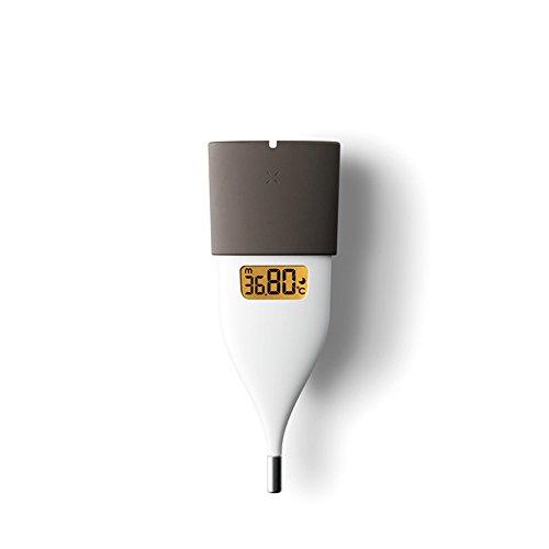 オムロン 婦人用電子体温計 ブラウン