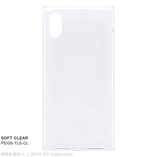 "EYLE スクエア型 ケース TILE""TPU SOFT"" for iPhone XS/X (CLEAR)"