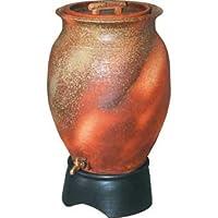 三栄水栓[SANEI]【EC2015S-100L】雨水タンク(信楽焼)