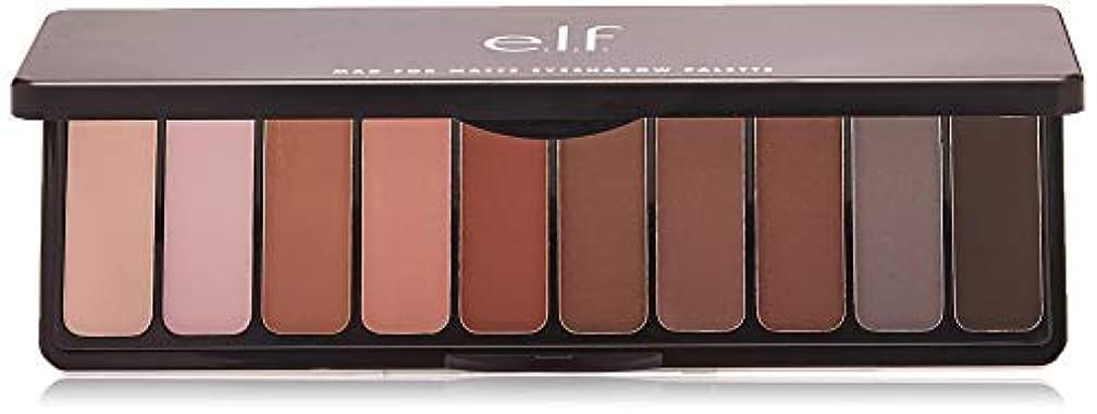 熱狂的なチョップ当社e.l.f. Mad For Matte Eyeshadow Palette - Nude Mood (並行輸入品)