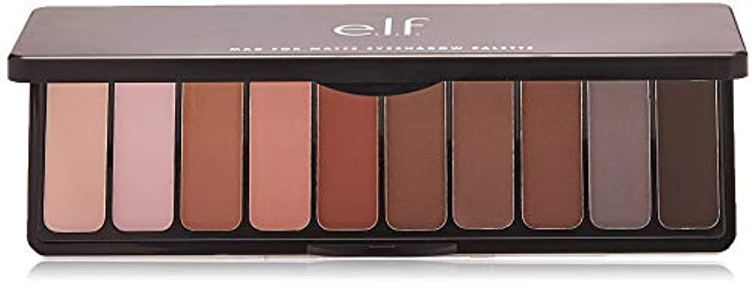 フォージ広がり衰えるe.l.f. Mad For Matte Eyeshadow Palette - Nude Mood (並行輸入品)