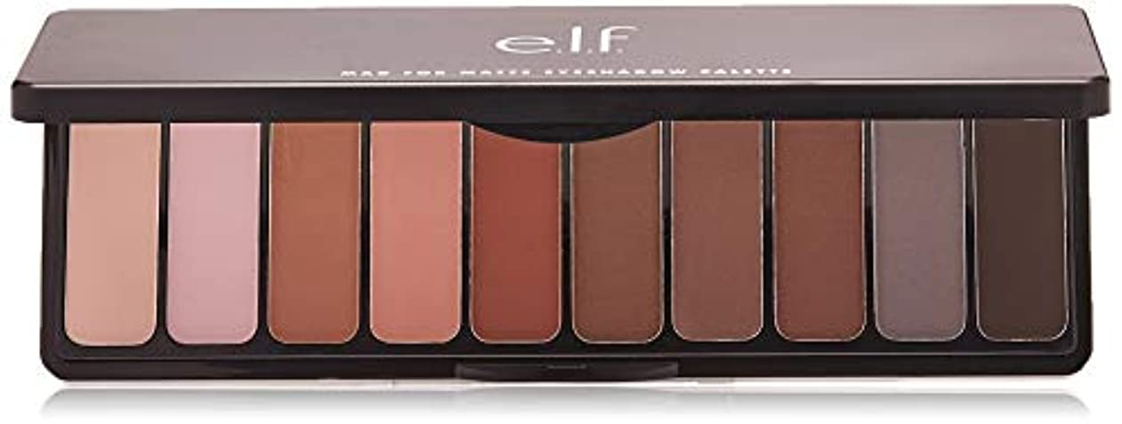 愛前兆休憩するe.l.f. Mad For Matte Eyeshadow Palette - Nude Mood (並行輸入品)