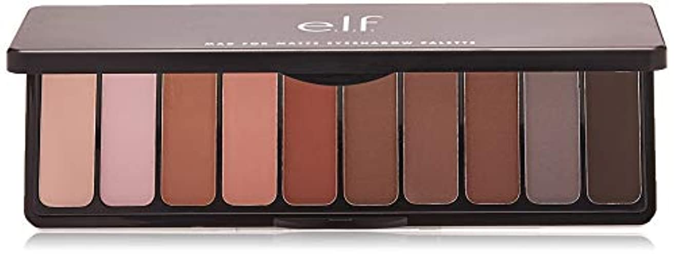 可聴トリム穴e.l.f. Mad For Matte Eyeshadow Palette - Nude Mood (並行輸入品)