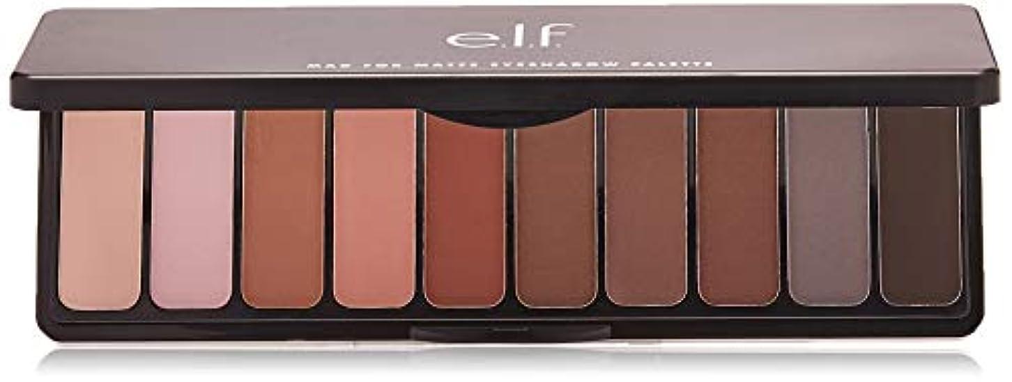 くちばし杭ボトルネックe.l.f. Mad For Matte Eyeshadow Palette - Nude Mood (並行輸入品)