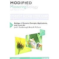 Modified Mastering Biology with Pearson eText - Standalone Access Card - for Biology of Humans: Concepts Applications and Issues (6th Edition)【洋書】 [並行輸入品]