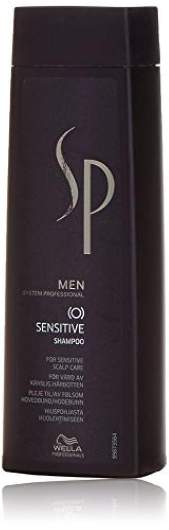 たくさんのモディッシュ平和的WELLA SP SENSITIVE  男性用シャンプー  (SHAMPOO FOR MEN) 250ML