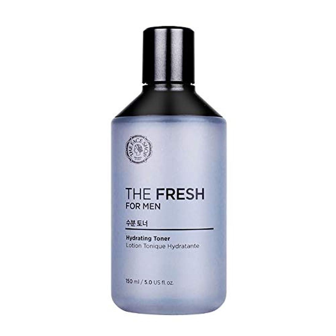 オートメーションユーモア上回るザ・フェイスショップザ・フレッシュフォーマン水分トナー150mlメンズコスメ、The Face Shop The Fresh For Men Hydrating Toner 150ml Men's Cosmetics [並行輸入品]