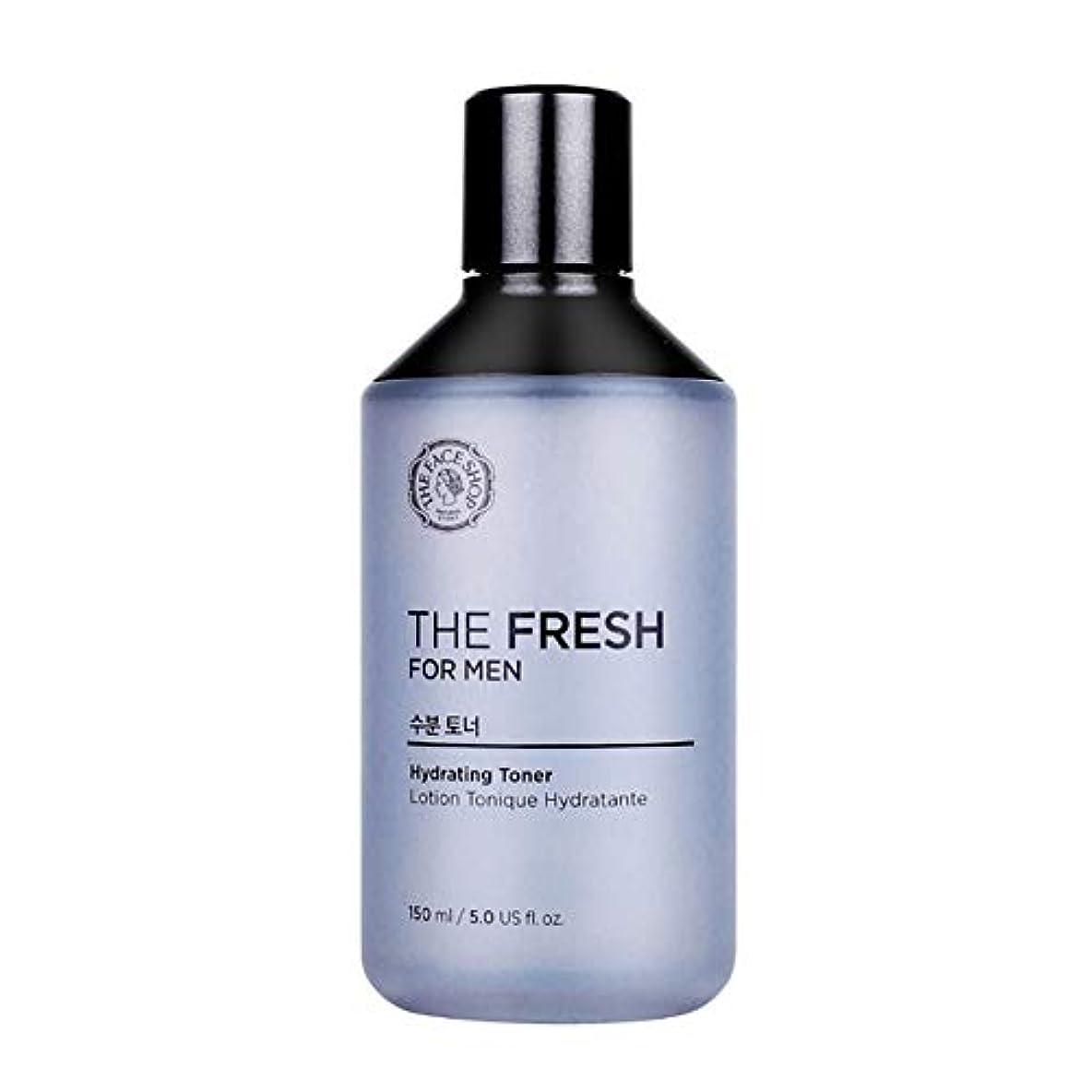 中にブート生き物ザ?フェイスショップザ?フレッシュフォーマン水分トナー150mlメンズコスメ、The Face Shop The Fresh For Men Hydrating Toner 150ml Men's Cosmetics [並行輸入品]