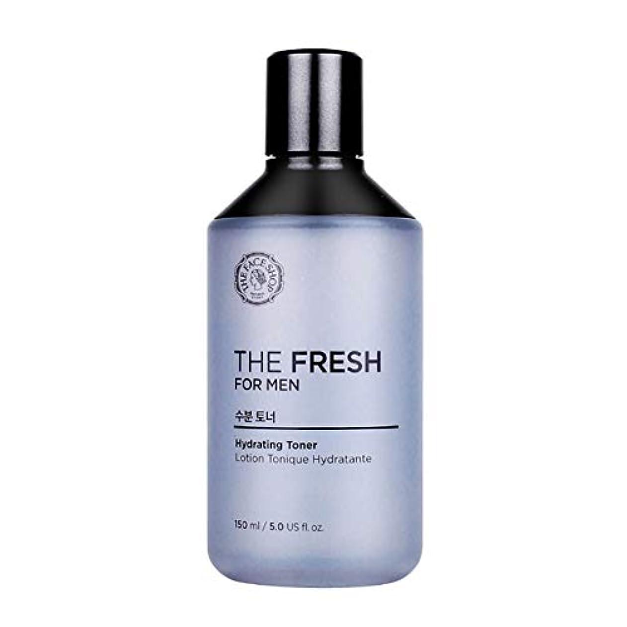 人気の大邸宅パーティションザ?フェイスショップザ?フレッシュフォーマン水分トナー150mlメンズコスメ、The Face Shop The Fresh For Men Hydrating Toner 150ml Men's Cosmetics [並行輸入品]