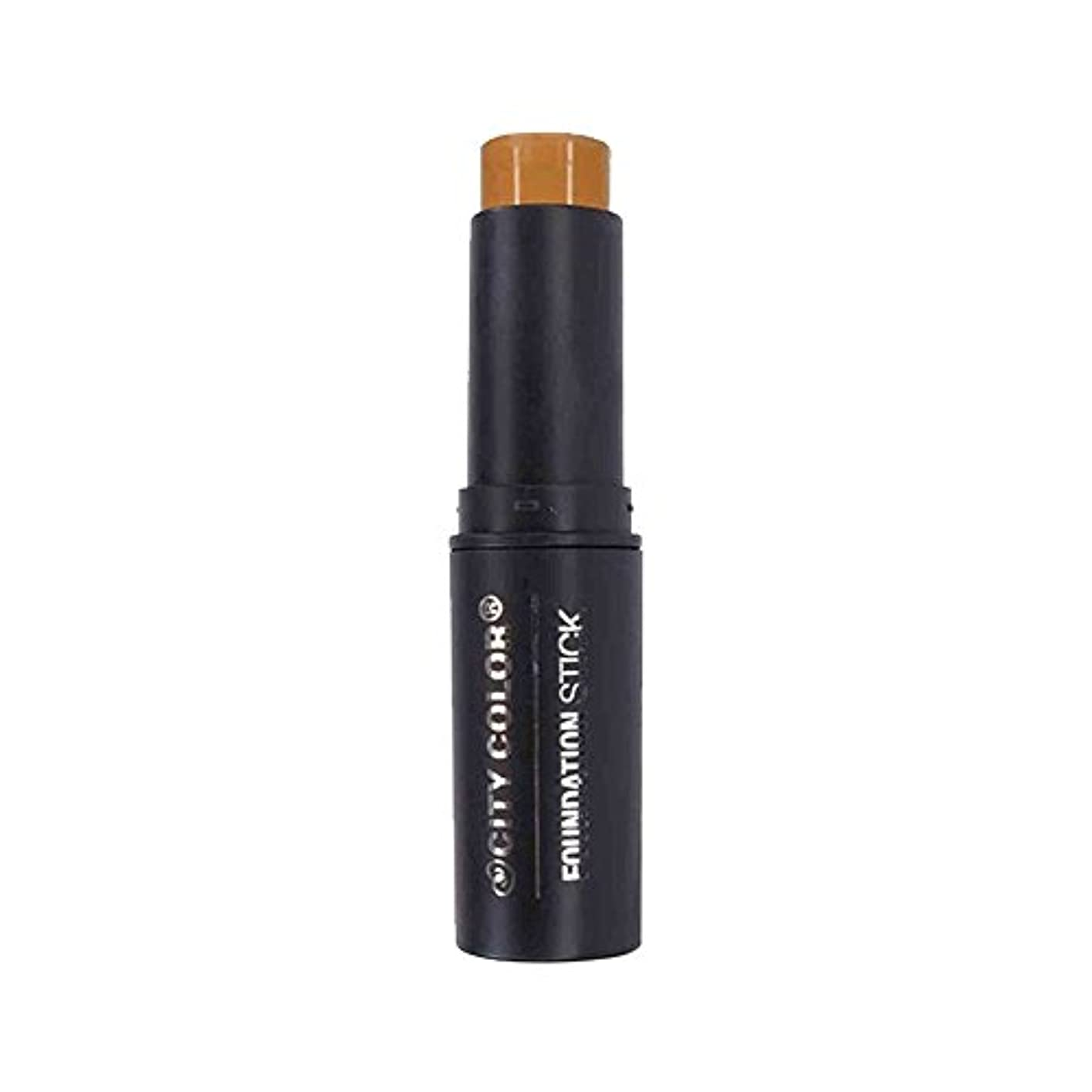 ラバハーネス火CITY COLOR Foundation Stick - Natural (並行輸入品)