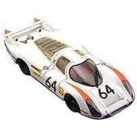 エブロ 1/43 ポルシェ 908 ロングテール ルマン 1969 #64 ホワイト 完成品
