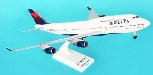 1: 200 スカイマークス Delta Air Lines ボーイング 747-400 New 2007 Colors, with Landing Gear (並行輸入)