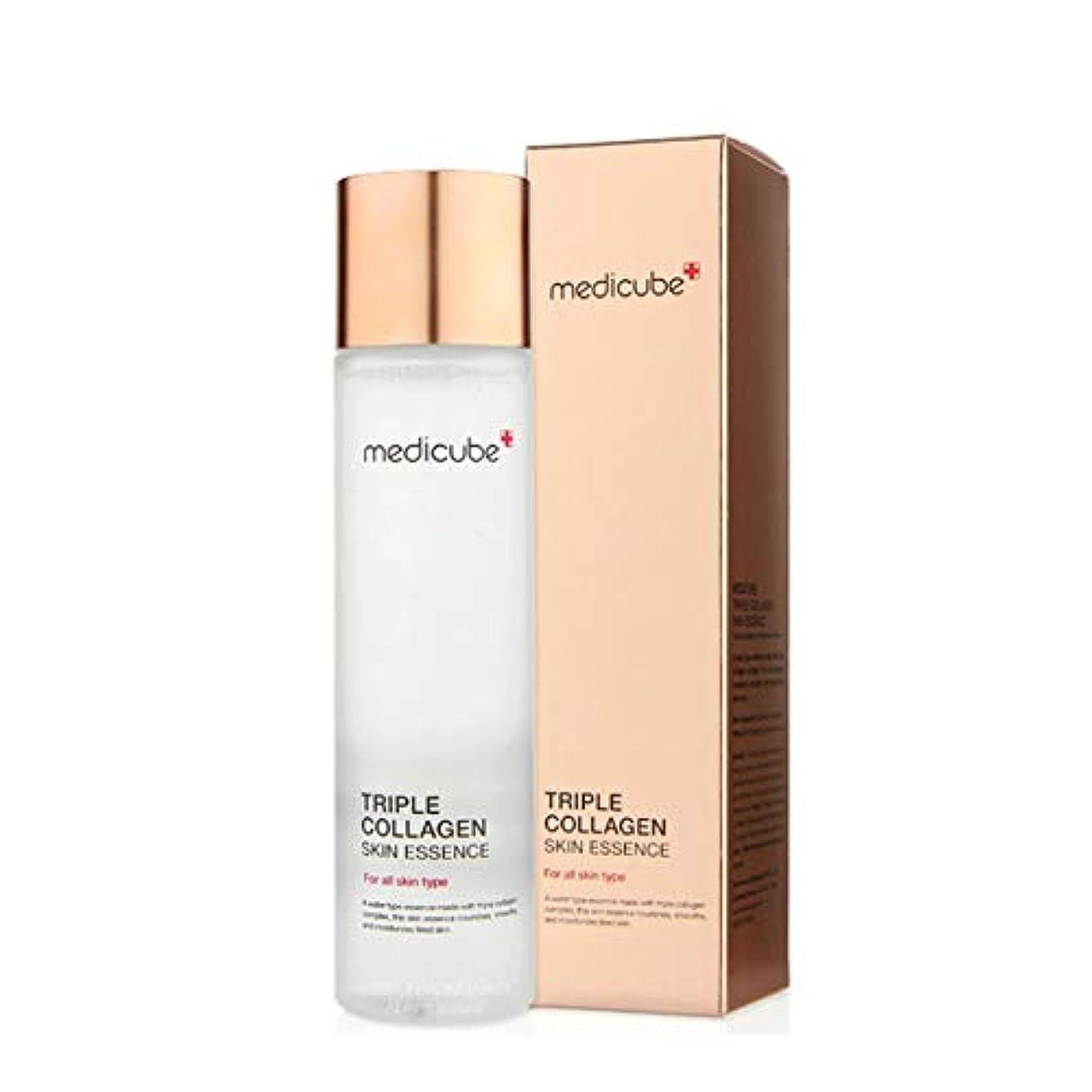 の慈悲で写真を描く解決するメディキューブトリプルコラーゲンスキンエッセンス140ml 韓国コスメ、Medicube Triple Collagen Skin Essence 140ml Korean Cosmetics [並行輸入品]