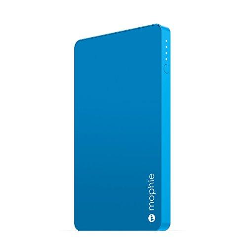 日本正規品・1年保証mophie powerstation mini (急速充電対応 3000mAh モバイルバッテリー) ブルー MOP-BY-000123