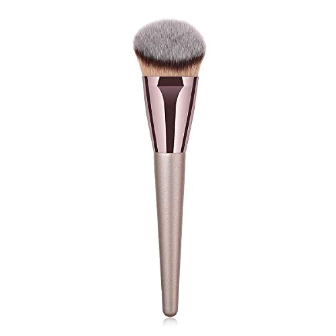 振り返る買う言語学CHANGYUXINTAI-HUAZHUANGSHUA 持ち運びに便利な化粧品の美容ツールの基本的な単一のブラシ (Color : Gray)