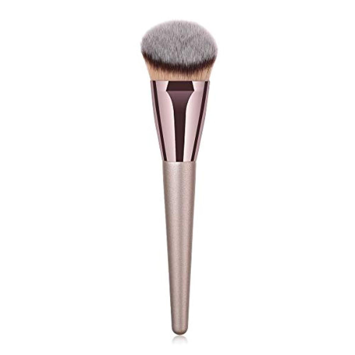 有料階列車Makeup brushes 持ち運びに便利、歌舞伎化粧ブラシ用パウダーブラッシュパウダーフルイド化粧品美容ツールCanonicalシングルブラシ suits (Color : Gray)