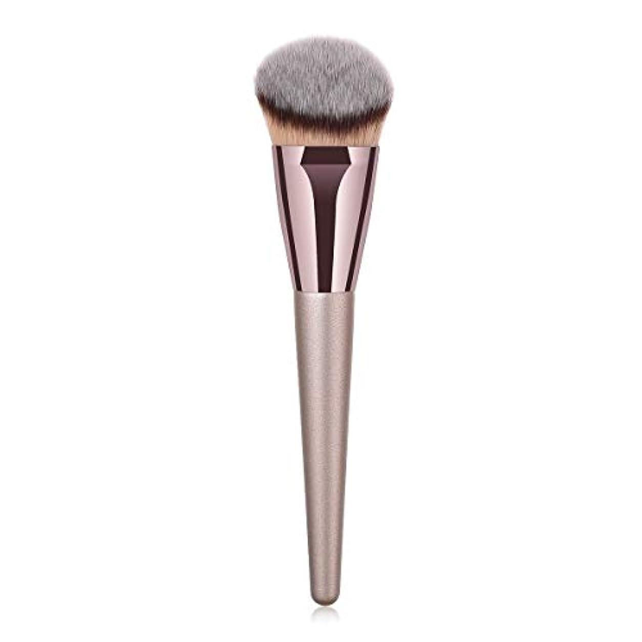 保有者価値謙虚なMakeup brushes 持ち運びに便利、歌舞伎化粧ブラシ用パウダーブラッシュパウダーフルイド化粧品美容ツールCanonicalシングルブラシ suits (Color : Gray)