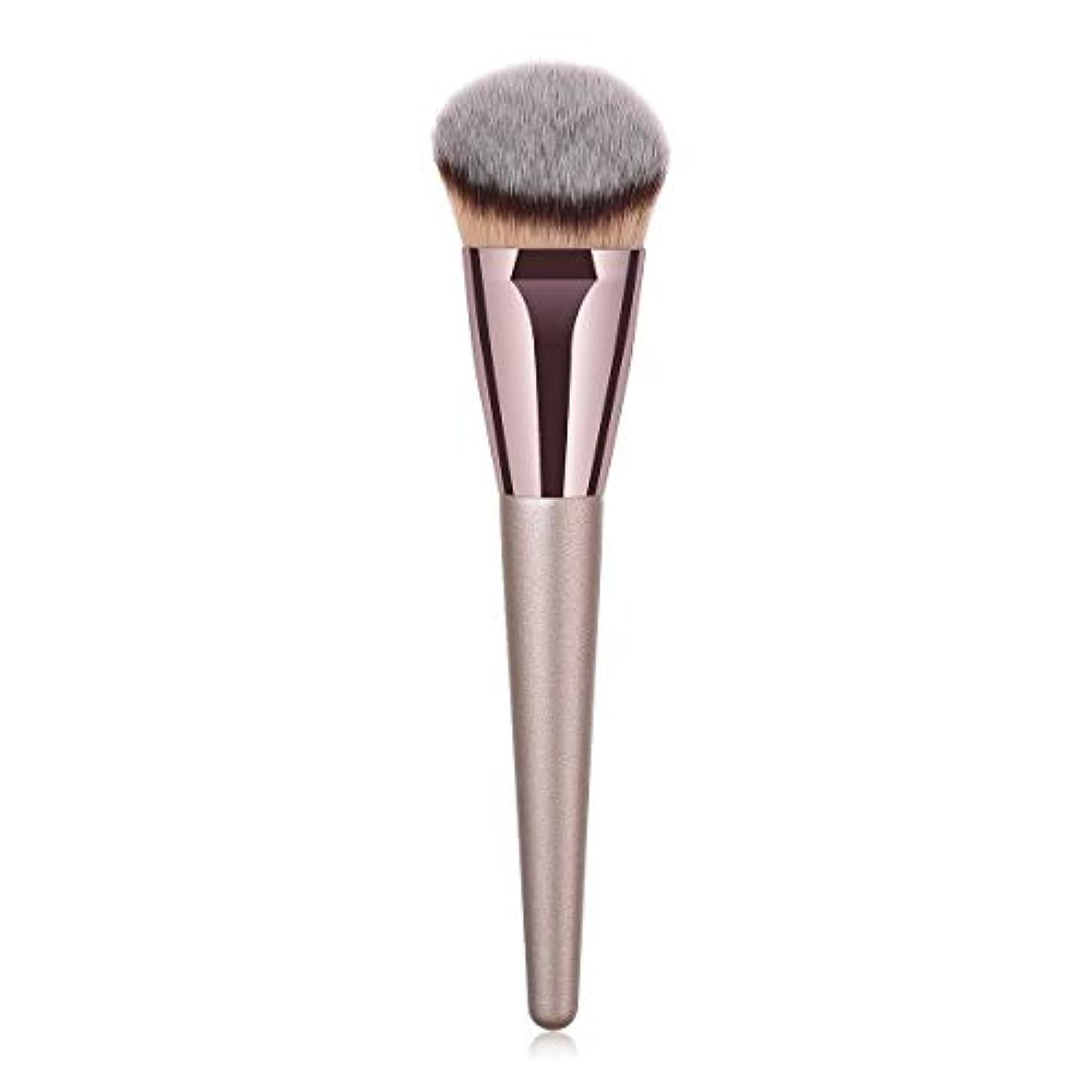 告白するエイリアスエントリMakeup brushes 持ち運びに便利、歌舞伎化粧ブラシ用パウダーブラッシュパウダーフルイド化粧品美容ツールCanonicalシングルブラシ suits (Color : Gray)