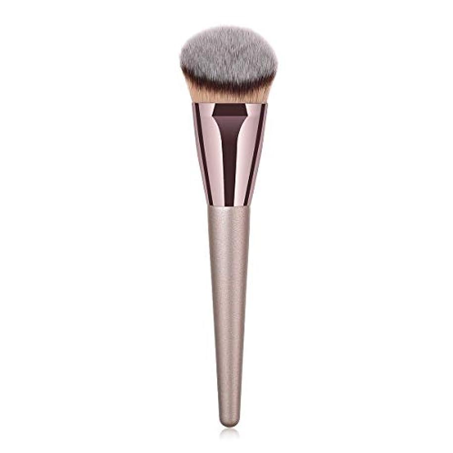観点赤寛大なMakeup brushes 持ち運びに便利、歌舞伎化粧ブラシ用パウダーブラッシュパウダーフルイド化粧品美容ツールCanonicalシングルブラシ suits (Color : Gray)