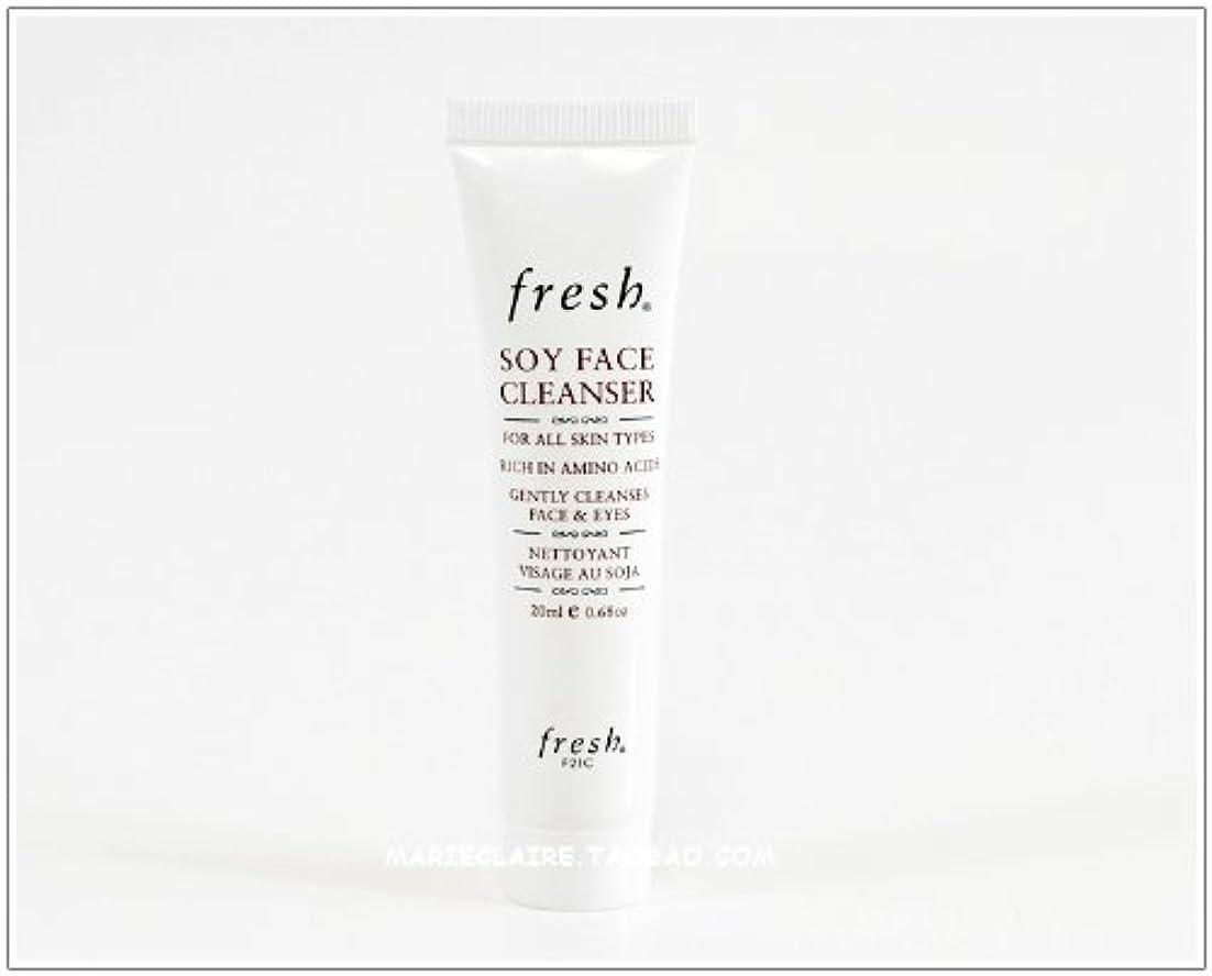 勝つ接続致命的Fresh SOY FACE CLEANSER (フレッシュ ソイ フェイス クレンザー) 0.6 oz (20ml) トラベルサイズ by Fresh for Women