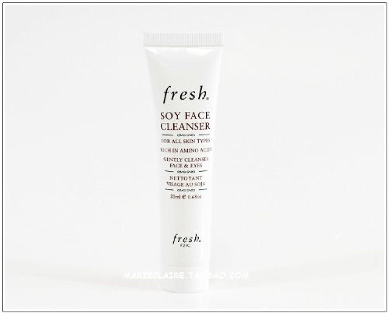 しつけ単なる対角線Fresh SOY FACE CLEANSER (フレッシュ ソイ フェイス クレンザー) 0.6 oz (20ml) トラベルサイズ by Fresh for Women