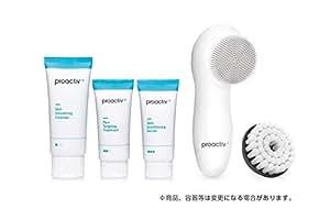 プロアクティブ+ Proactiv+ 薬用3ステップセット30日サイズ 電動洗顔ブラシ(シリコンブラシ付) プレゼント 公式ガイド付