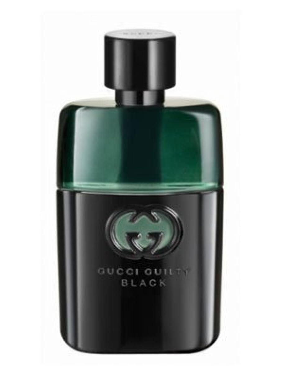 上陸スケルトン現実的Gucci Guilty Black Pour Homme (グッチ ギルティー ブラック プアー オム) 3.0 oz (90ml) EDT Spray or Men