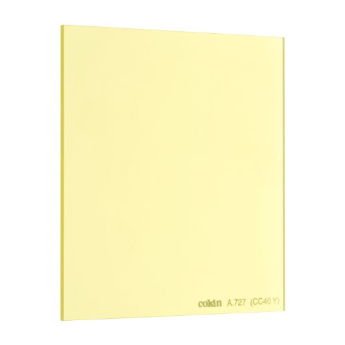 Cokin 角型レンズフィルター A727 YELLOW CC FILTER (CC40Y) 67×72mm 色補正用 167276