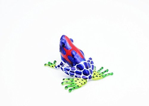 Lampwork GLASS Iron Spider Frog Figuarts