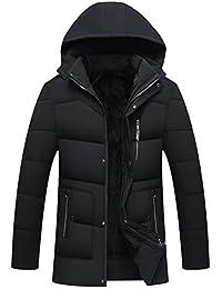 コート メンズ 中綿ジャケット 長袖 防寒 アウター コート フード付き 無地 中綿入り ダウンジャケット 厚手 暖かい 防風 ブルゾン アウトドア 秋冬