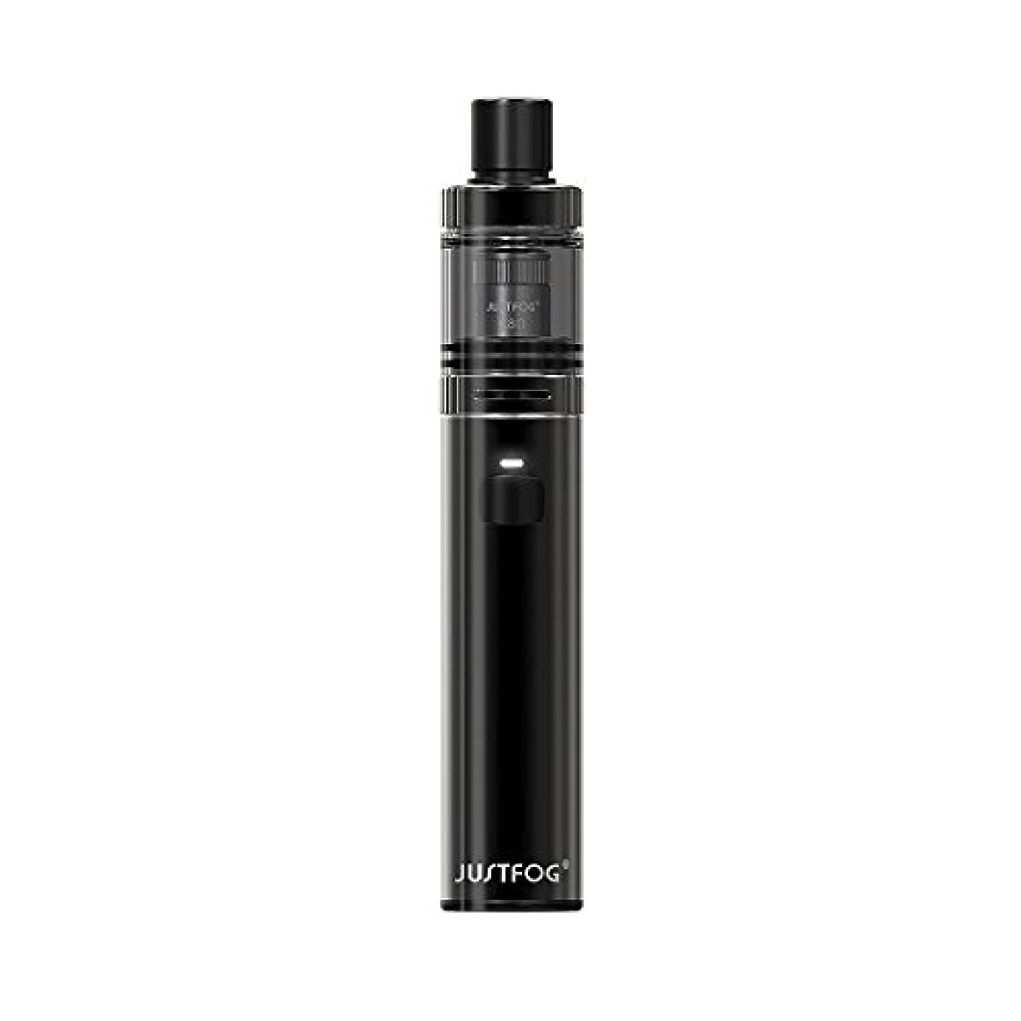 定説装備する測定可能Justfog FOG1 Kit スターターキット 電子タバコ VAPE ジャストフォグ フォグ1 AIO (Black)