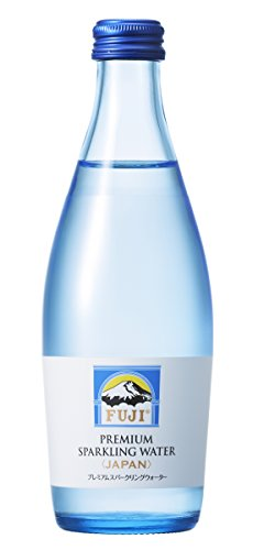 富士ミネラルウォーター プレミアムスパークリングウォーター 瓶 300ml×24本