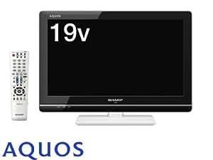 シャープ 19型 ハイビジョン 液晶 テレビ AQUOS LC-19K5-W  ホワイト