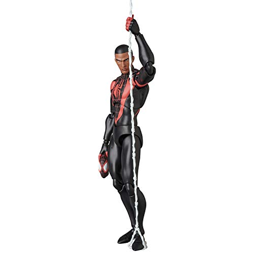 MAFEX マフェックス No.092 スパイダーマン (マイルズ モラレス) 全高約160mm 塗装済み アクションフィギュア