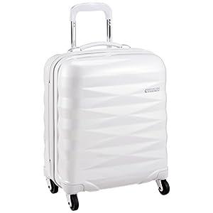 [アメリカンツーリスター] スーツケース Crystalite クリスタライト スピナー50 機内持込可 機内持込可 保証付 32L 50cm 2.8kg R87*15001 15 パールホワイト